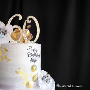 Golden Years Cake