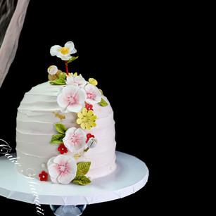 Pop Blossom Honeycomb Cake