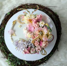 Magic Garden Cake