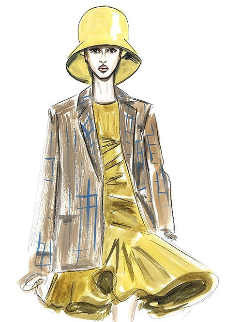 Nina Ricci Yellow Look