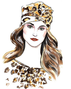 Fashion beauty in leopard print by _kate