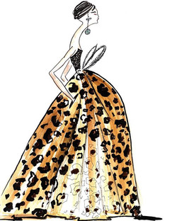 Gorgeous leopard dress by _dennisbasso �