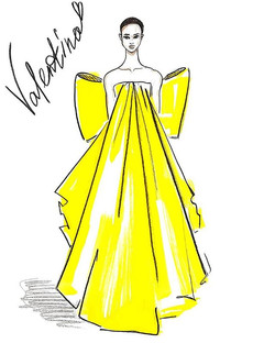 Valentino Yellow Baroque Volume💛💛💛