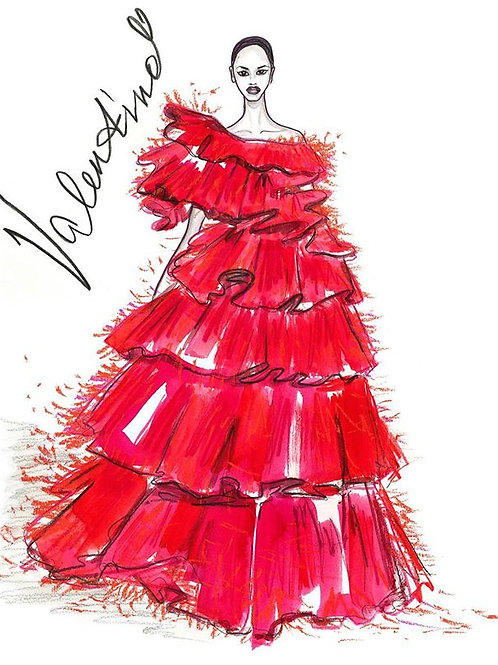 Valentino In Red