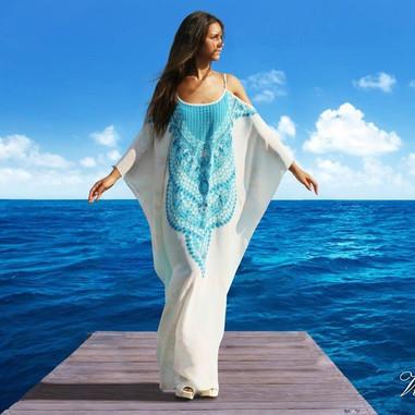 Dress Versaille  Victoria Luxury silk