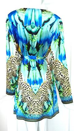 Kimono with tie belt. Cote d'azur