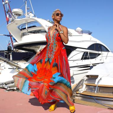 Victoria luxury silk