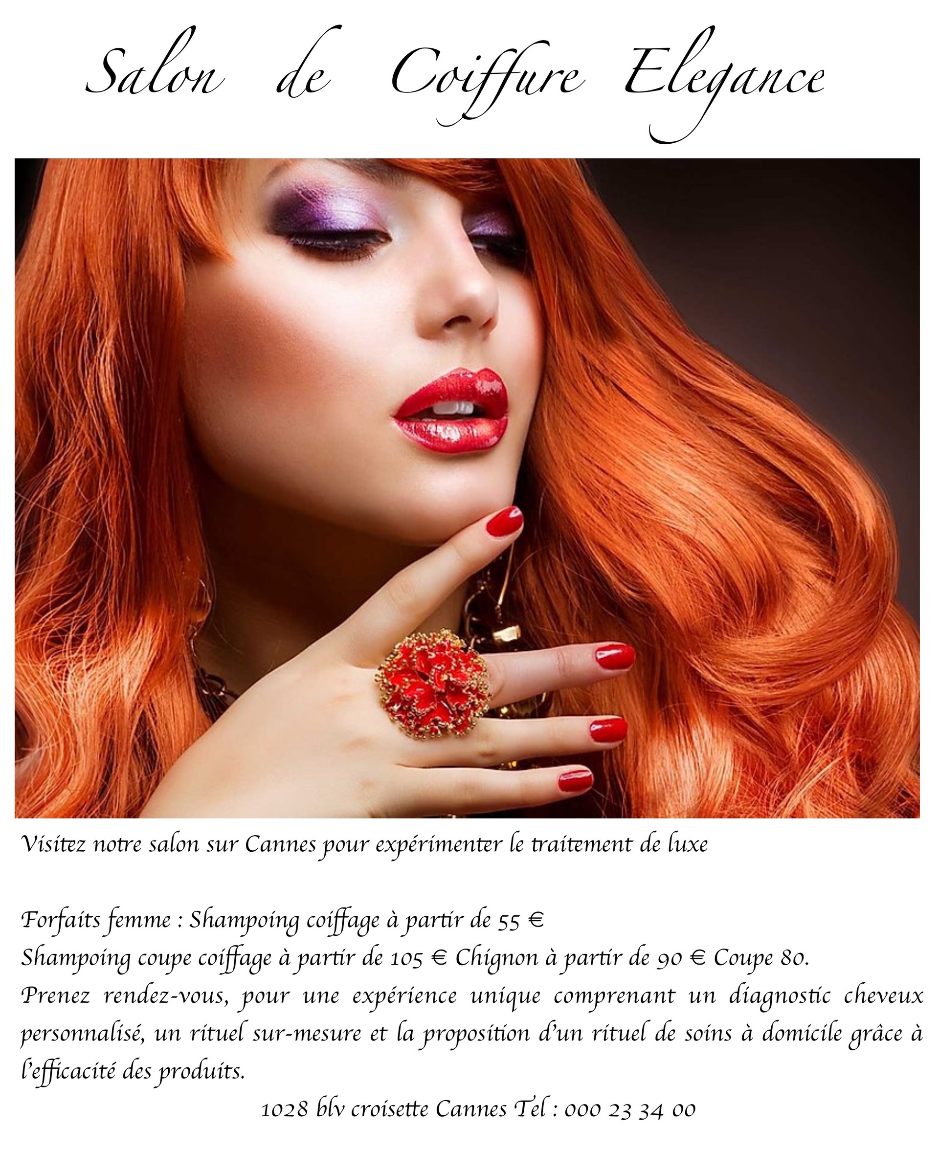salon coifure site web