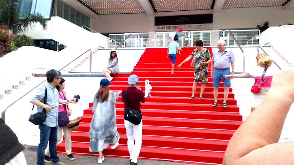 French Sartlette in Cannes