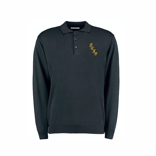 RETRO 85' BUFC EMBROIDERED POLO SWEATER