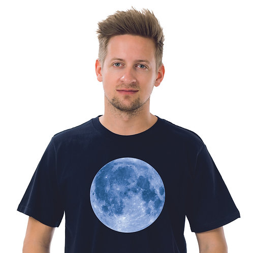 BLUE MOON BLACK ICONIC T-SHIRT