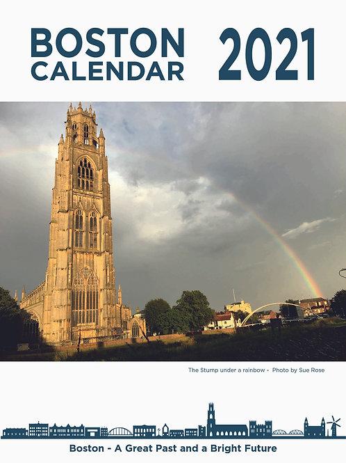 2x 2021 BOSTON A4 14 PAGE CALENDARS
