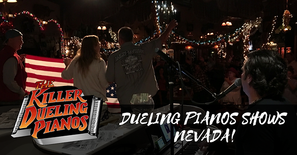 Best dueling pianos entertainment in Bakersfield California!