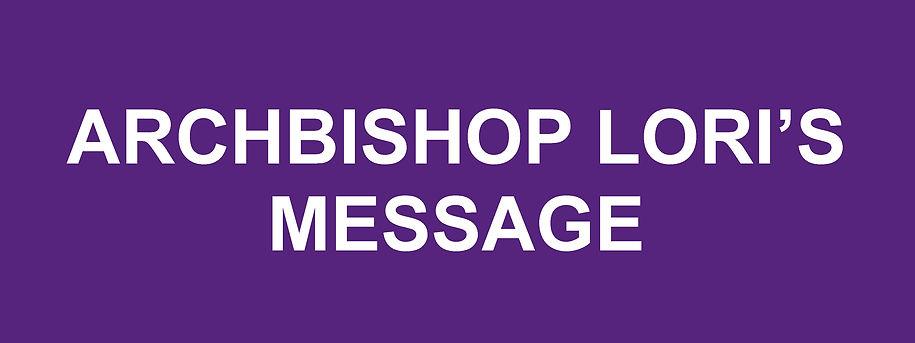 Website Banner - Advent Archbishop Lori.