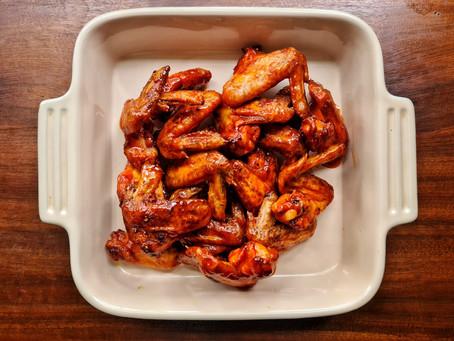 Honey and Sriracha Chicken Wings