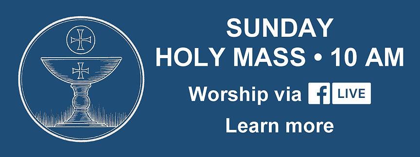Website Banner - Sunday Mass blue.jpg