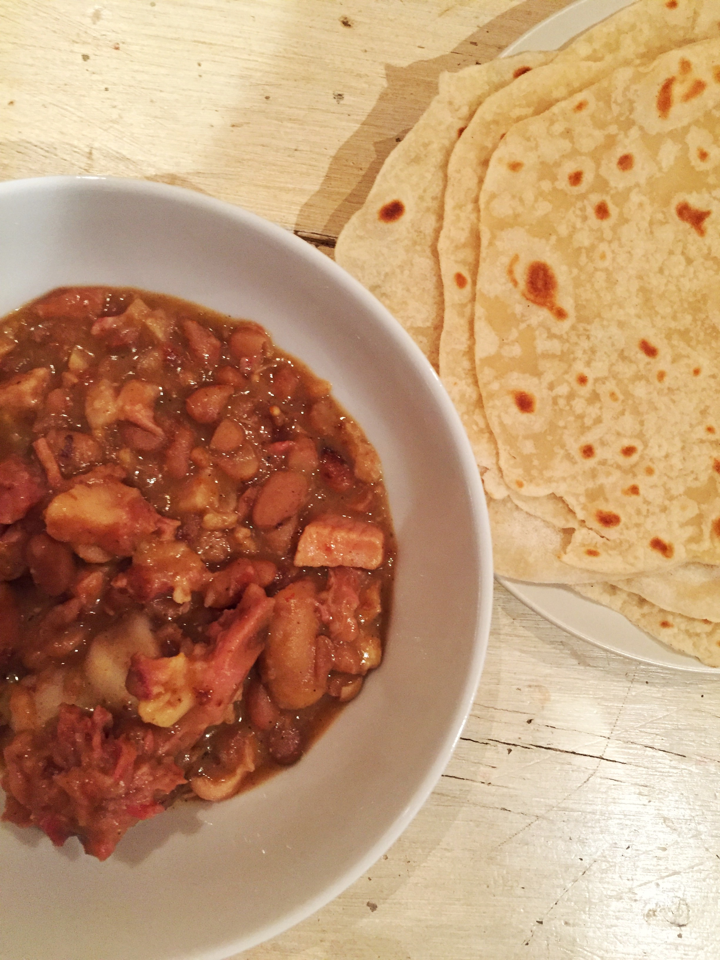 Pork and Beans Curry
