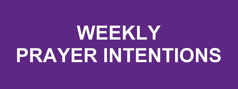 Website Banner - Advent Wekly Prayer Int