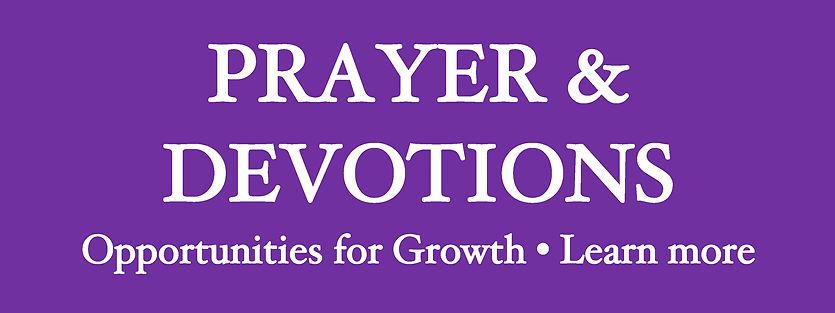 Website Banner - Lent 2021 Prayer & Bibl
