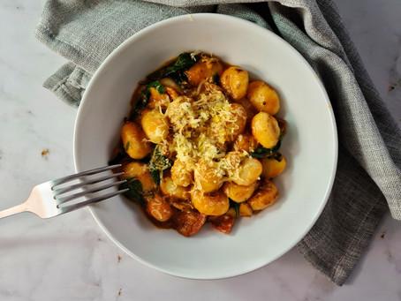 Mushroom & Chorizo Gnocchi
