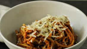 Sundried Tomato Pesto & Chicken Pasta