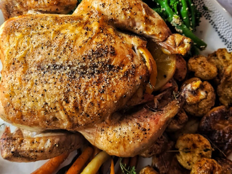Sunday Roast: Chicken & Vegetables