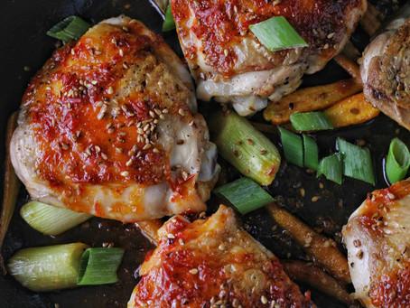 Sambal Oelek Chicken Thighs