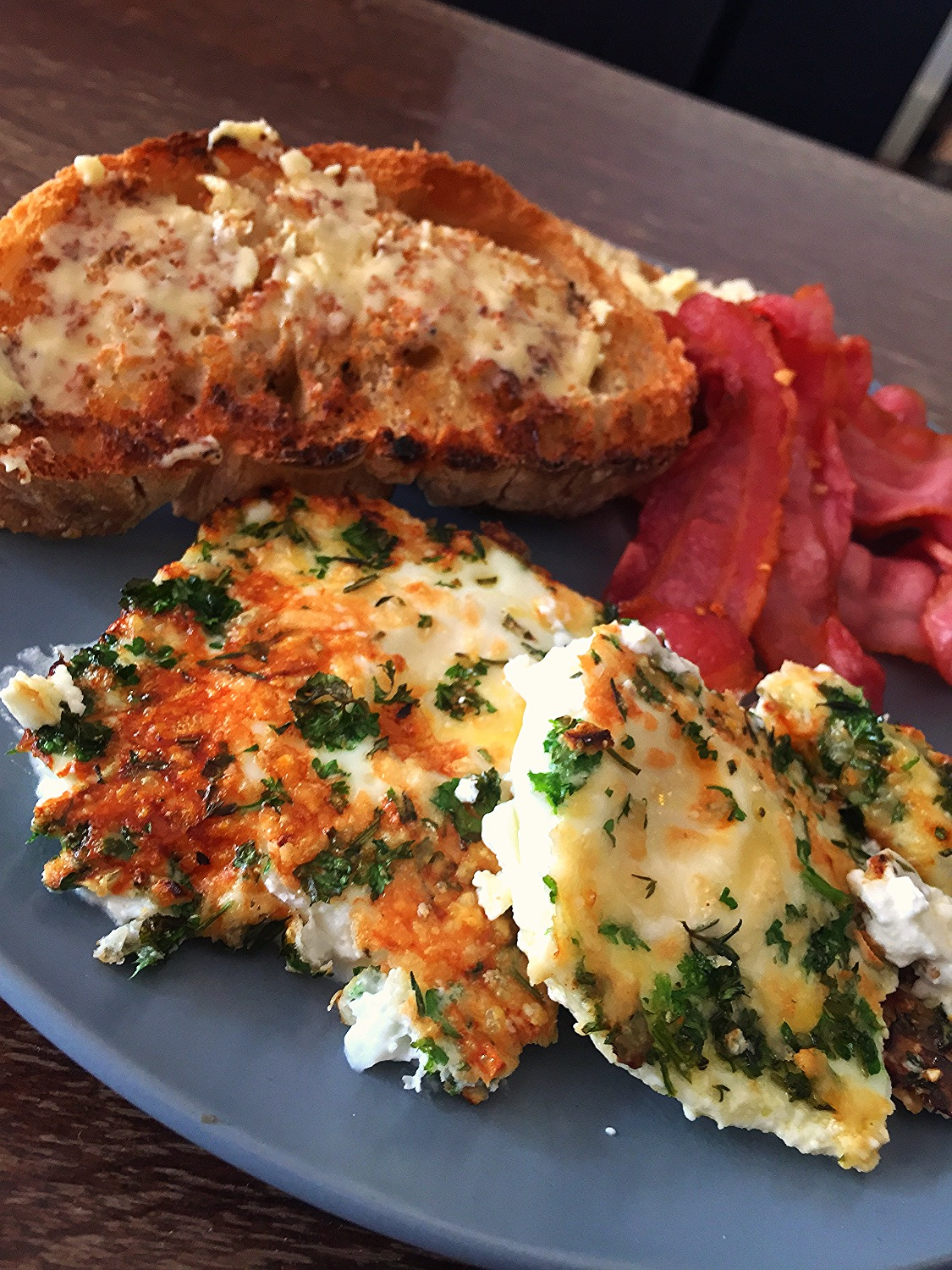 Herby Crusted Eggs