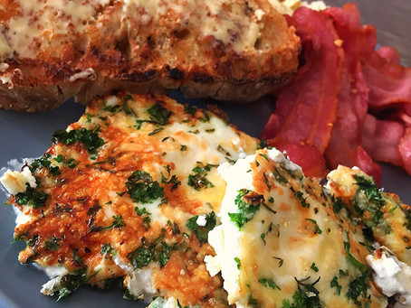 Herby Cheesy Eggs