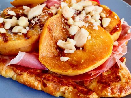 Peach & Prosciutto Croissant