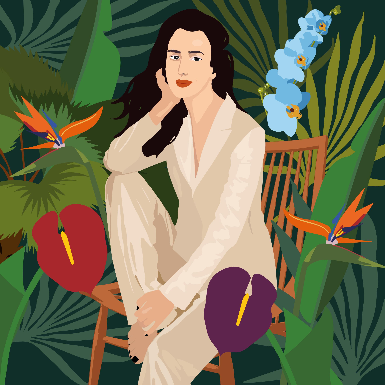 self-portrait--Camila-Pinheiro