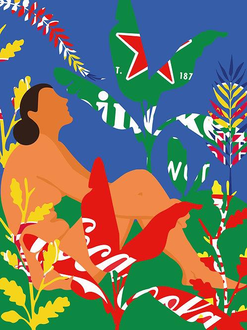 Salve a Natureza ( Canvas 90 X 70 cm)