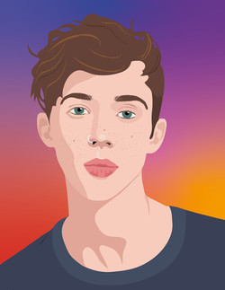 Troye-Sivan for the book Speak Up
