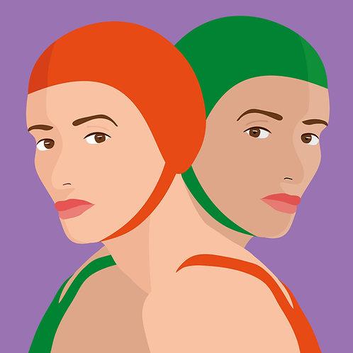 Gêmeas (Canvas 90x90)