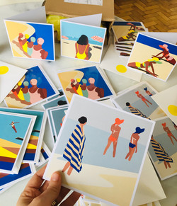 Cards collab Ustudio - Camila Pinheiro