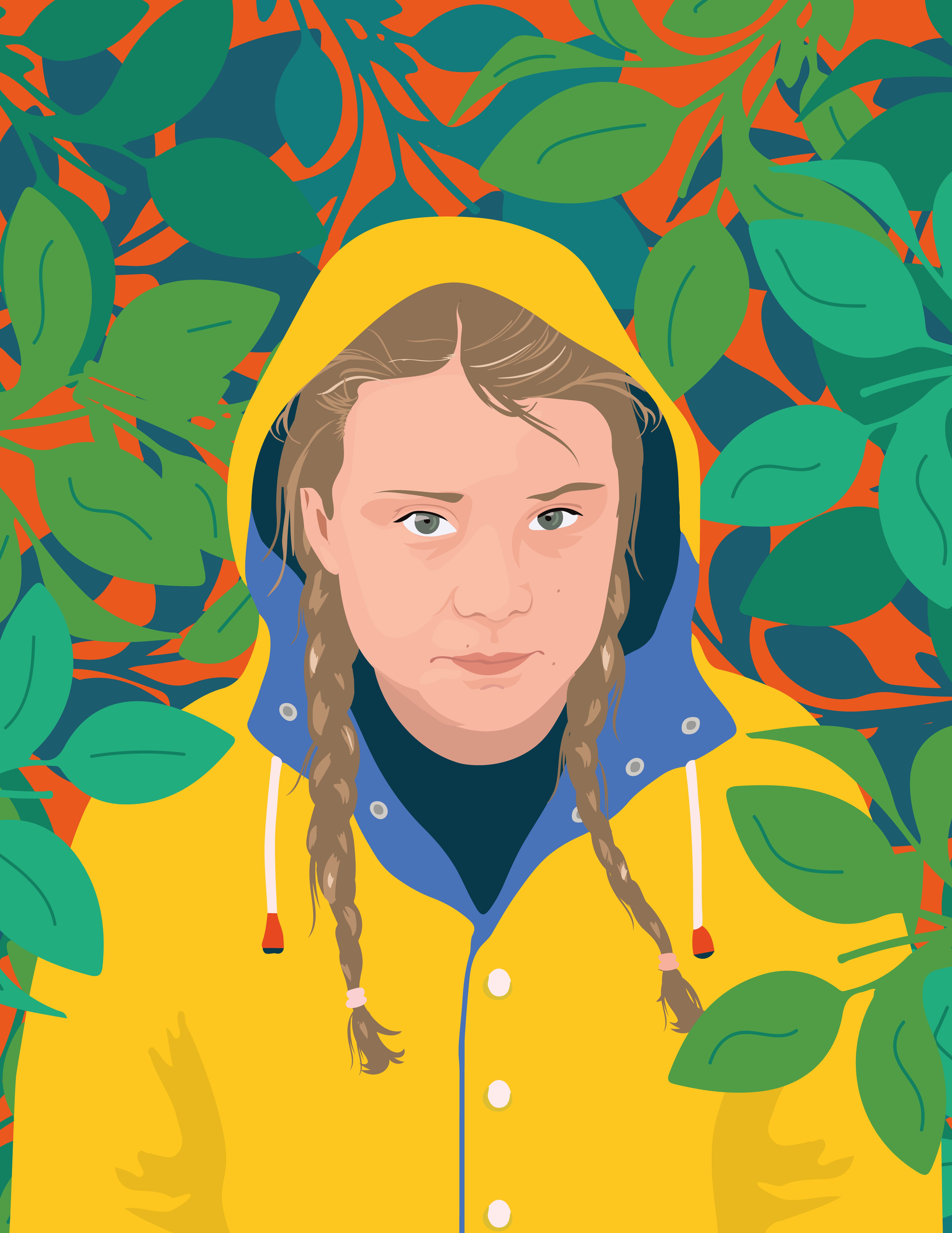 Greta-Thunberg - Camila Pinheiro for Spe