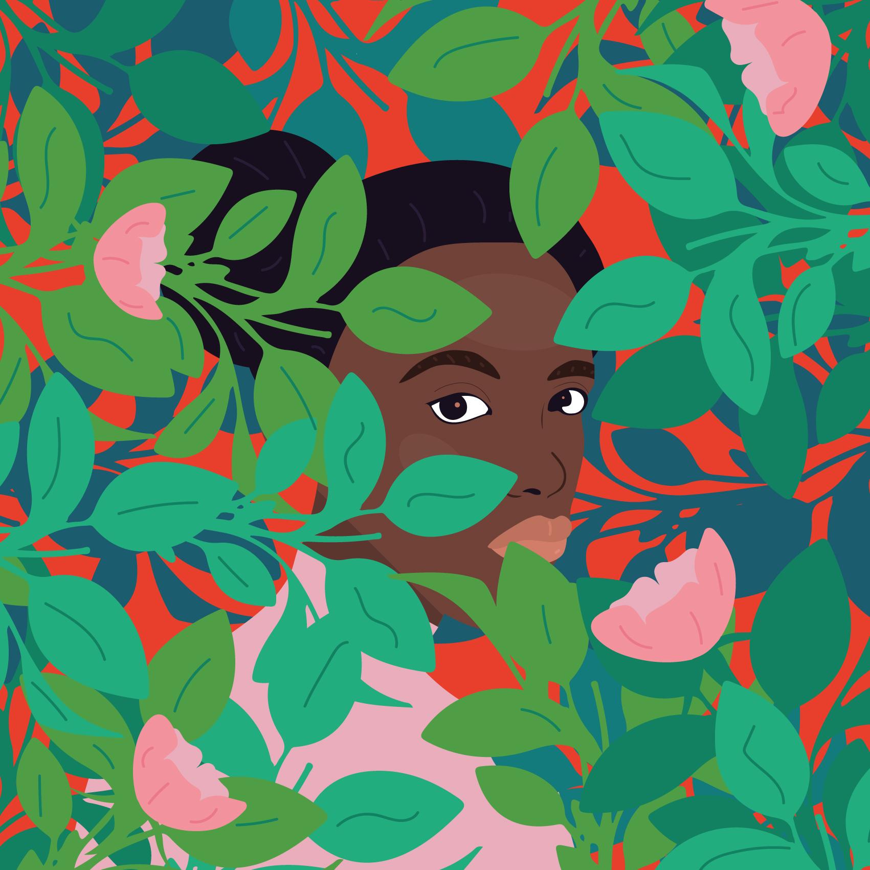 A menina no jardim - Camila Pinheiro copyright