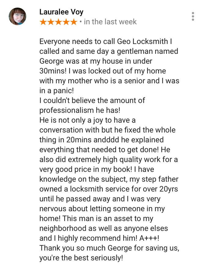 Another great review!!! #google #googlereview #googlemaps #geolocksmith #brooklynlocksmith #locksmit