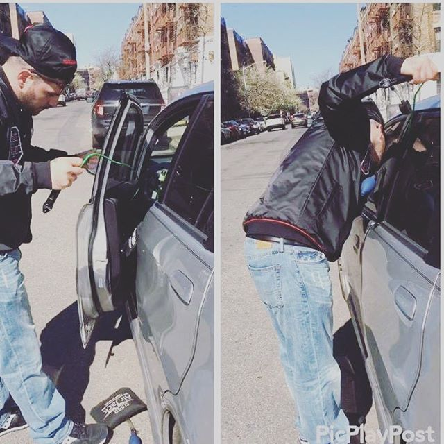 Car lockout #car #keys #locked #carlocksmith #locksmith #brooklynlocksmith #geolocksmith #atwork #lo