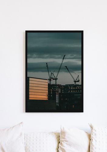 Crane Sunset - 052