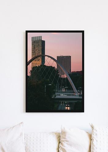 Beetham Tower Sunset - 092