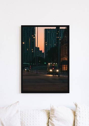 Ambulance Sunset - 036