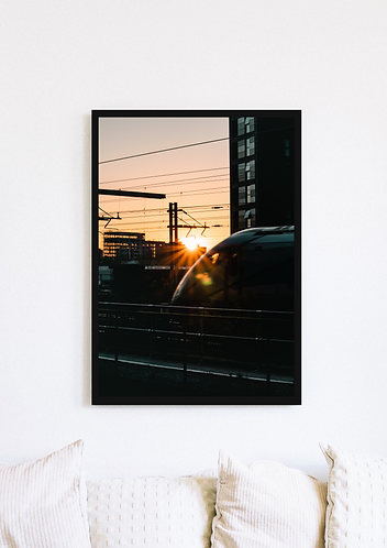 Train Sunset - 026