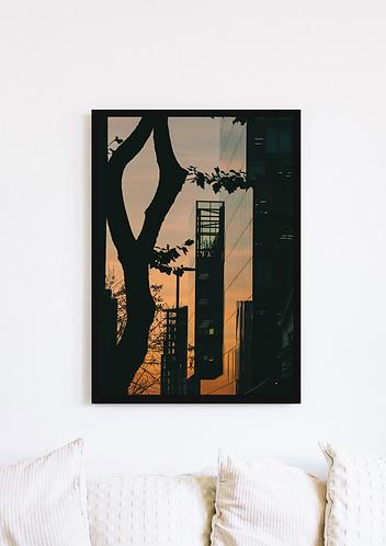 No1. Spinningfields Sunset - 085