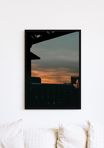 Castlefield Bridge Sunset - 001