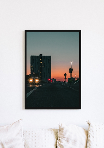 Headlights Sunset - 038