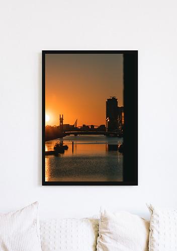 Salford Quays Sunset 4 - 060