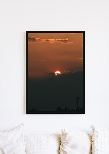 Cloudy Sunset - 042