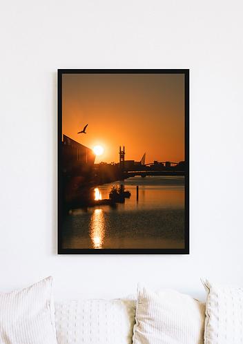 Media City Sunset - 059