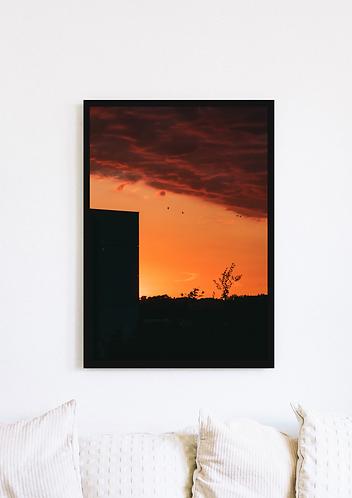 Stratus Cloud Sunset - 050